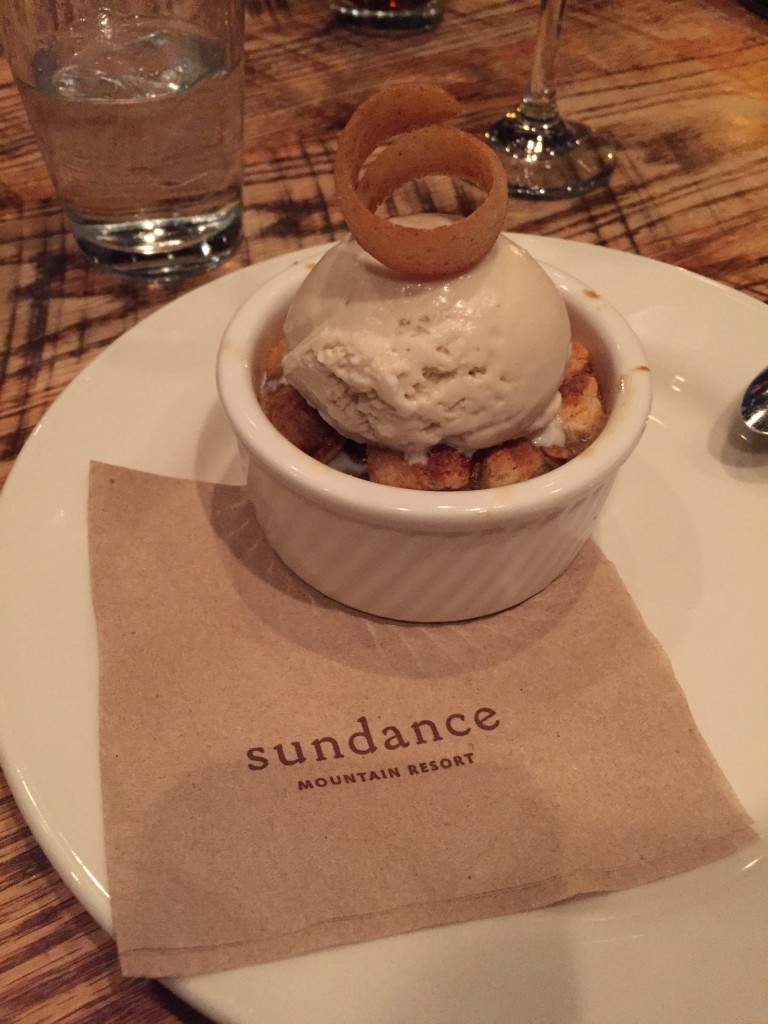 foundry grill maple pecan bread pudding
