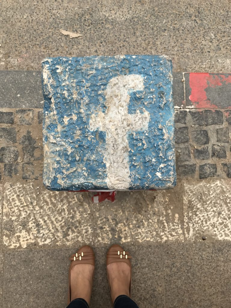 facebook post on streets of jerusalem