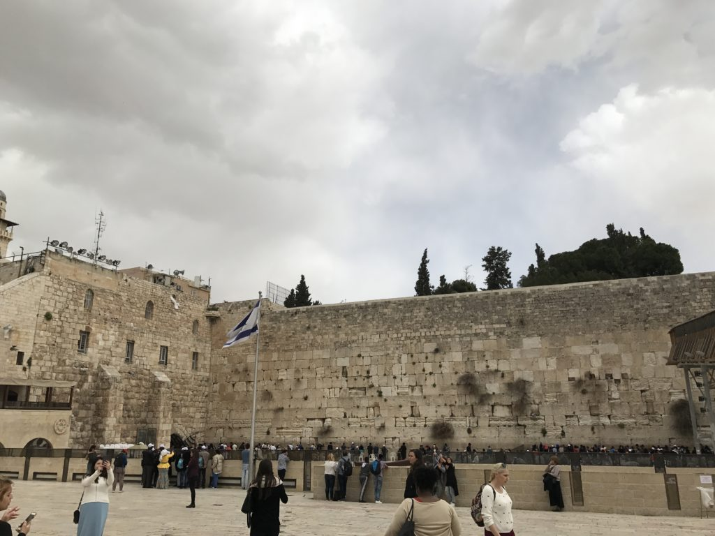 western wall large men's side